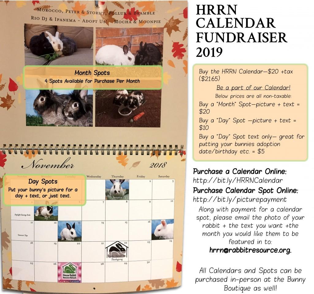 Hrrn Adoptions Rescues Education Advocacy Giant Atx Se 2 2014 S Blue Wht Gry Calendar Fundraiser