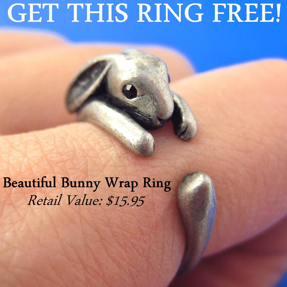 bunny wrap rings
